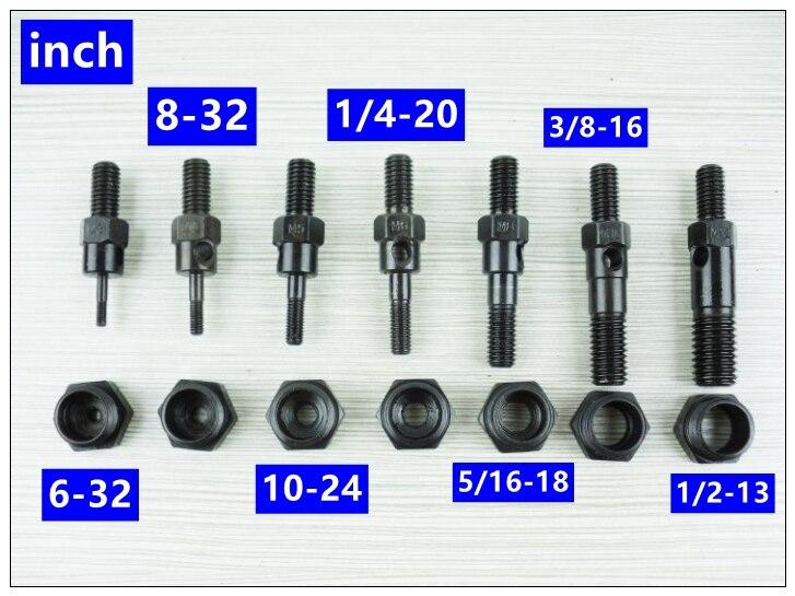 US $5 98 30% OFF|MXITA Riveter Gun Replacement Mandrel for Hand Nut Rivet  Gun Metric M3 M12 INCH 6 32 1/2 13-in Riveter Guns from Tools on