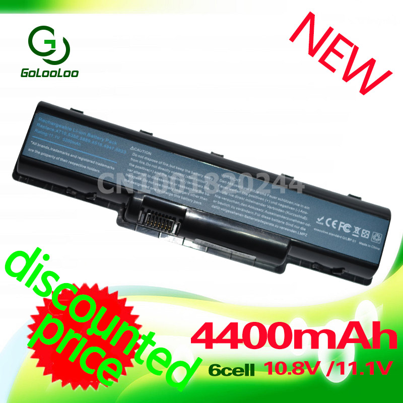 Golooloo Battery for Acer Aspire AS07A31 5738zg 5740 4740g 5740g 5542g 4930g AS07A32 AS07A41