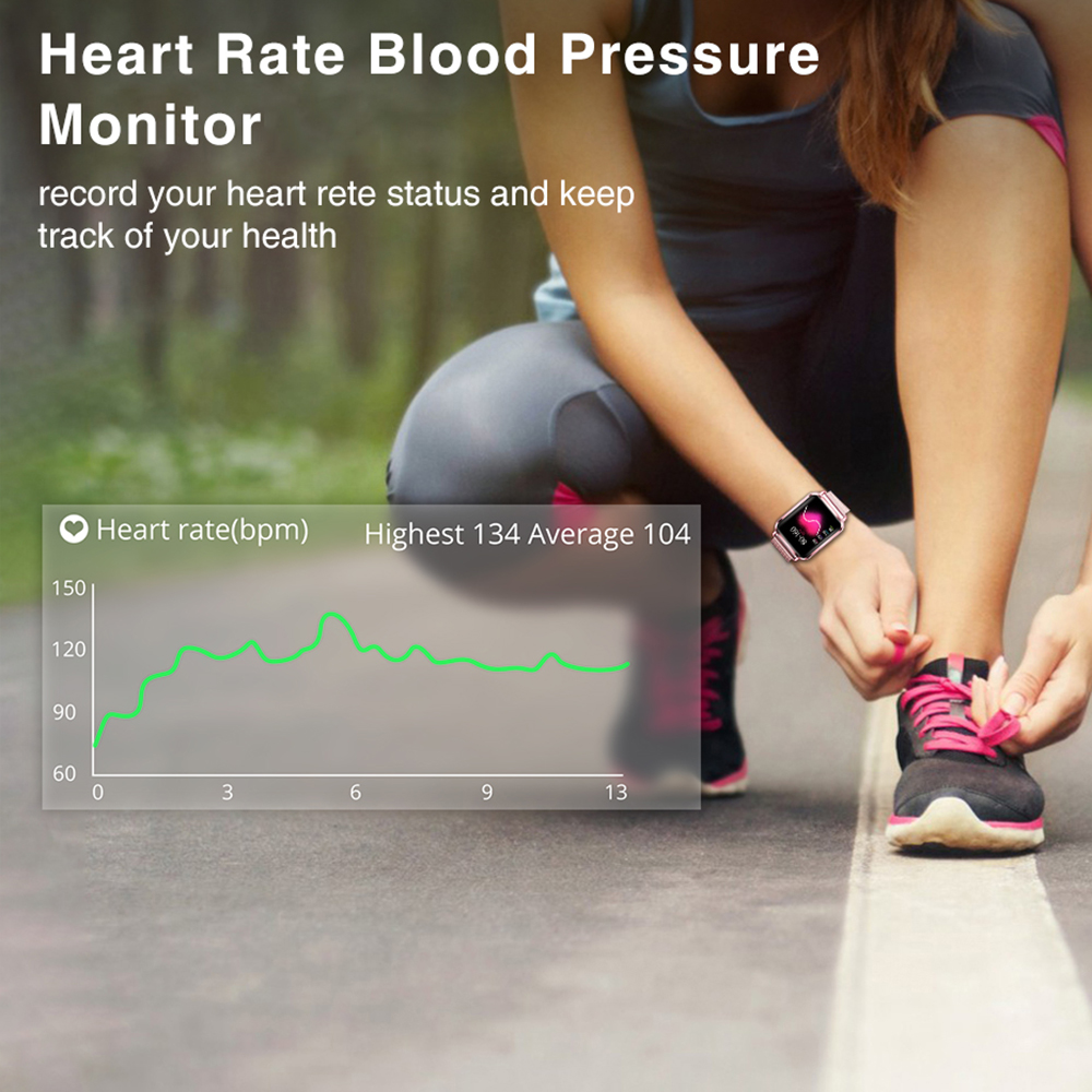 Image 3 - Virtoba S2 Smart Watch Men Women Pedometer Color Smartwatch Blood Pressure Fitness Tracker Heart Rate Monitor UI Watch For APPLE-in Smart Watches from Consumer Electronics