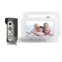 FREE SHIPPING BRAND 7 Color Screen Video font b Door b font phone Doorbell Intercom 2