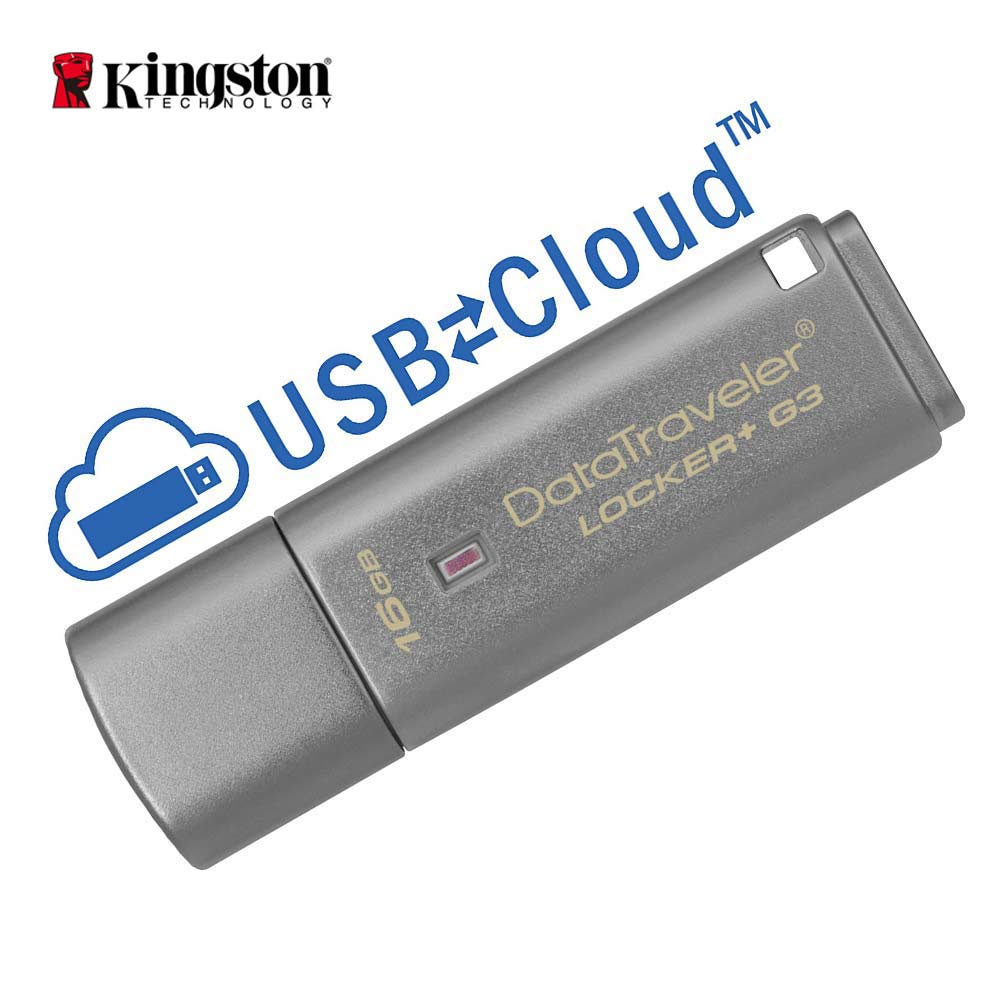 Kingston Usb Flash Pendrive 16gb USB 3.0 Personal Data Security Automatic Cloud Backup cle usb Pen Drive Encrypted Flash Drives цена и фото