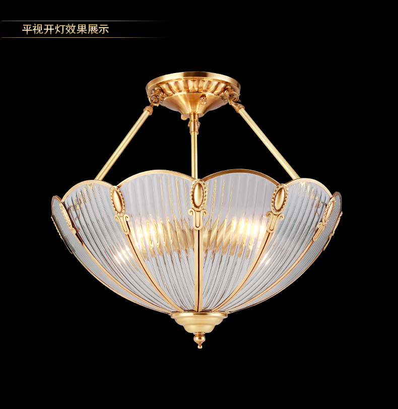 Kitchen Antique Umbrella Pendant Lights For Restaurant