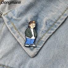 DMLSKY Recess cartoon brooches Badge Pin Enamel Pins Hat brooch Charm Gift M2263