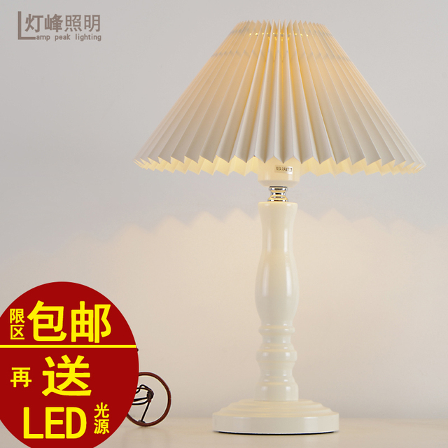 Cloth Stand For Bedroom Creative Decoration minimalist modern garden table lamp study bedroom bedside lamp