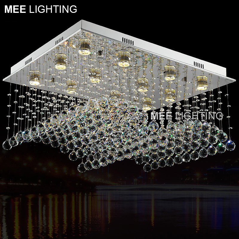High Quality K9Crystal chandelier GU10 Crystal luxurious lamp lighting fixture for Home Decoration Hotel Project for stair Foyer|luxury lamp|luxury light fixtures|crystal chandeliers lighting fixtures - title=