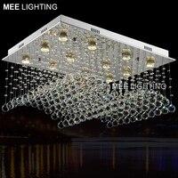 Hohe Qualität K9Crystal kronleuchter GU10 Kristall luxuriöse lampe leuchte für Home Dekoration Hotel Projekt für treppen Foyer-in Kronleuchter aus Licht & Beleuchtung bei