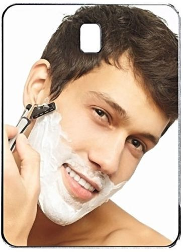 [ Fly Eagle ] Shower Mirror Premium Fog Free Shower Mirror Large Fogless Shaving Shower Mirror