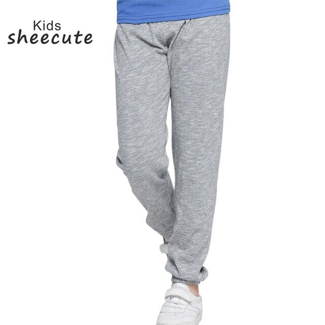 SheeCute/летняя детская одежда ярких цветов до середины талии, свободные тонкие хлопковые штаны для девочек для маленьких мальчиков; повседневные свободные штаны От 3 до 10 лет