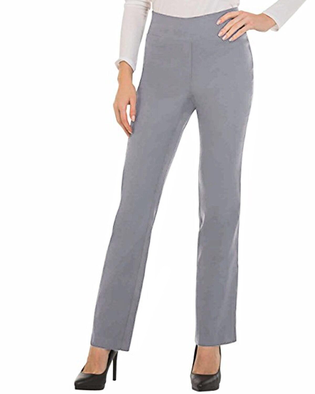 Women Casual Work Office Trousers High Waist Slacks Ladies Formal   Pant   Strech Bottoms Solid Long   Pants     Wide     Leg     Pants   S-2XL