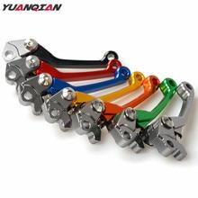 Palancas de embrague de freno de motocicleta CNC Dirt Moto Bike pivote para Yamaha YZ 80 85 YZ 125 250 YZ250F YZ426F YZ450F WR250R WR250X 2016
