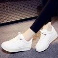 Мода 2017 Весна Повседневная Обувь Узелок Женщины Тренеры Обувь Платформа Комфорт Воздуха Обувь Для Ходьбы Tenis Feminino Chaussure Femme