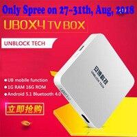 10 Pcs/lot 2018 New IPTV Android Smart TV Box UNBLOCK UBOX 4 Gen.4 S900 PRO BT Bluetooth 4K 16GB Box 1200 Asian TV Live Channels