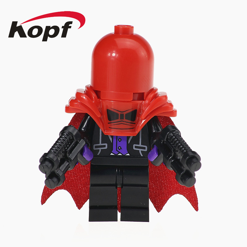 Single Sale Super Heroes Red Hood Poison Ivy Harley Quinn Bricks Action Model Education Building Blocks Chidren Gift Toys XH 554