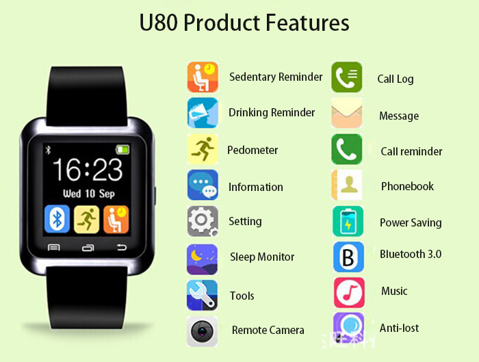 U8 smartwatch video instructions youtube.