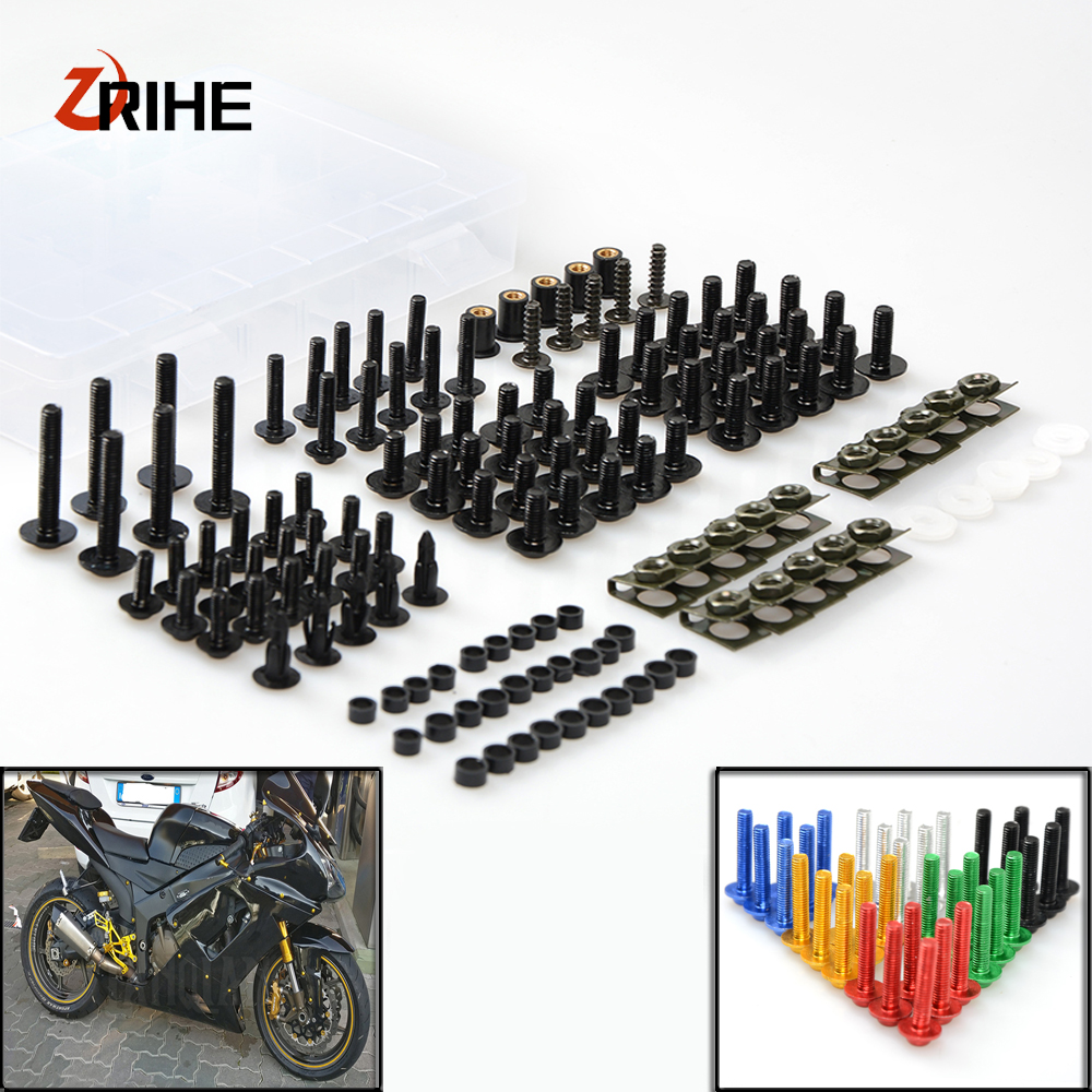 Motorcycle Accessories Fairing windshield Body Work Bolts Nuts Screw for BMW K1600 GT GTL R1200GS R1200R R1200RT R1200S