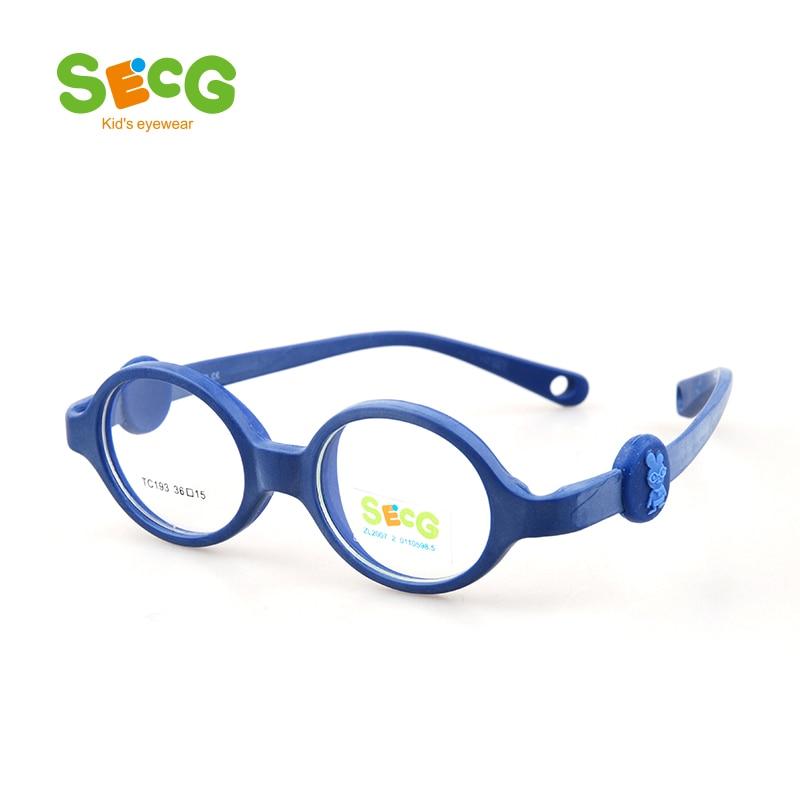 Top Brand Children Myopia Optical Glasses Frames TR-90 Glasses Children High Quality Protective Kids Eyewear Frames TC193