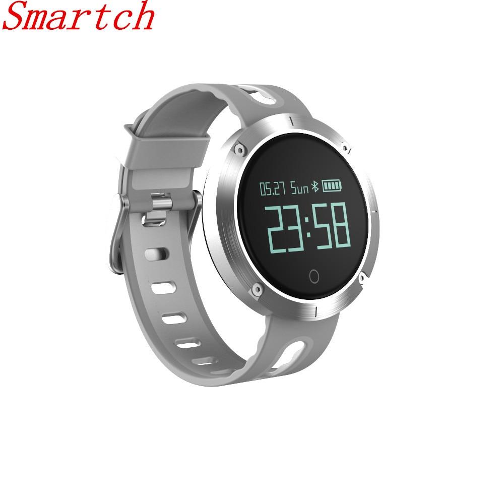 Smartch DM58 Smart Band Heart Rate Blood Pressure Watch IP68 Sports Bracelet Smart Wristband Fitness Tracker