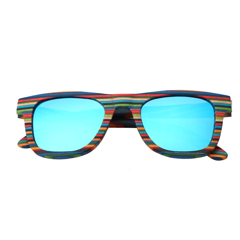 Bambus Gläser 2019 Licht Blau Uv400 Sonnenbrille Neue other Und grau Holz tan Polarisierende Mode Xiwang orange Uv Colors beweis Farbe Stil qpgCnSqxt