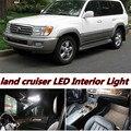 6 X Erro Free Car LED Brilhante Luzes Kit Pacote Interior Mapa Dome Porta Do Veículo para Land Cruiser 100 acessórios