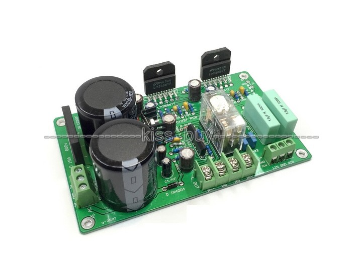 LM3886 Amplifier HiFi Stereo amp Assembled Board (With speaker protection) Dual 18-26V iwistao 2x20w hifi amplifier stereo