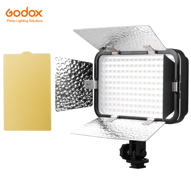 Godox LED170 II LED170II Hot Shoe Mount Continuous Portable Video LED Panel Lights for DSLR DV Camera