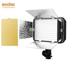 Godox LED170 השני LED170II נעליים חמות הר אורות פנל LED DV מצלמה DSLR וידאו נייד רציף