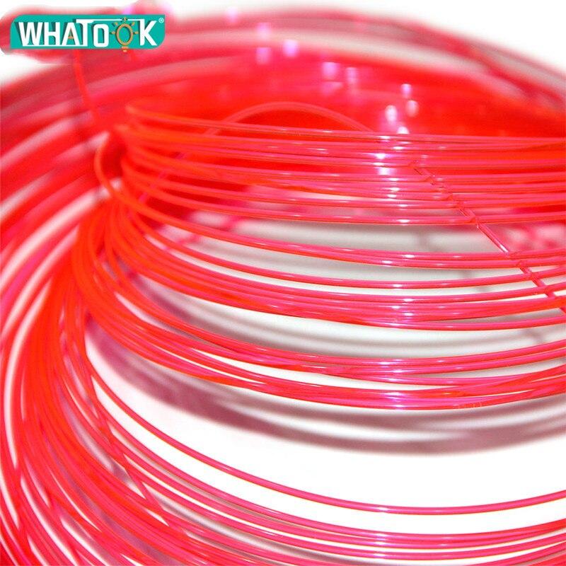 Image 3 - 1M Optic Fiber Lights Plastic Led Cable Fluorescence Flex 1.5mm 1.0mm 0.75mm 0.5mm Nano Optical Fibre for Gun Bow Sight Lighting-in Optic Fiber Lights from Lights & Lighting on
