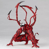 XINTOCH Action Figures Toys Venom Dolls Cletus Kasady doll Anime Carnage PVC Toy Marvel Christmas Gift for Kids Drop Shipping