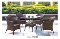مريحة عالية الخلفي الكراسي في مجموعة الغصن فاين مصنع بيع الشاي طاولة القهوة كرسي الترفيه فورنتيوري مجموعة عطلة