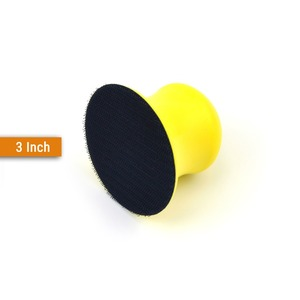 Image 3 - Tampons de ponçage à dos, à crochet et boucle, toutes tailles, disques abrasifs, papier de verre pour outils manuels de polissage