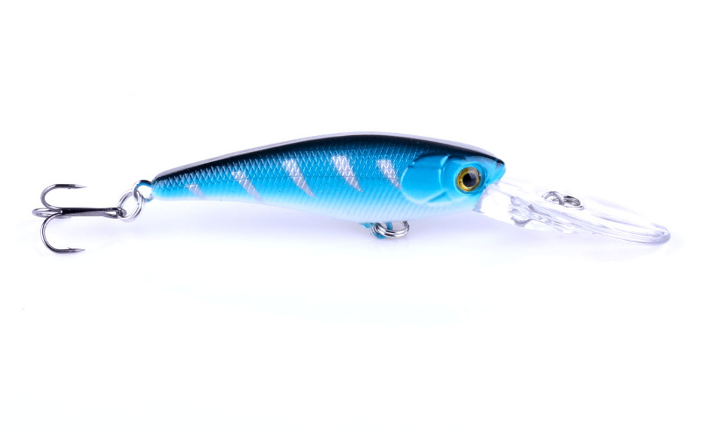1pcs new fishing lure deep swim swim hard bait fish 9 for Balls deep fishing weights