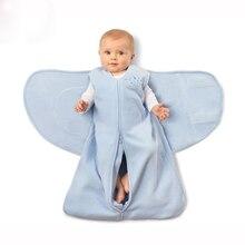 цена на Newborn Sleeping Bag Cotton Baby Anti-kick Baby Sleeping Bag Solid Infant Blankets Sleepbag Baby Sleepsack Christmas Gift Z808