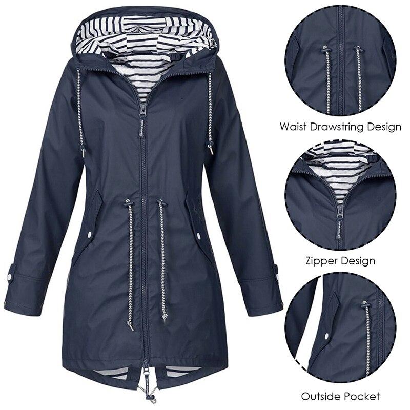 HTB1g7GsXHr1gK0jSZFDq6z9yVXaI LASPERAL 2019 Women Jacket Coat Waterproof  Transition Jacket Outdoor Hiking Clothes Lightweight Raincoat Women's Raincoat