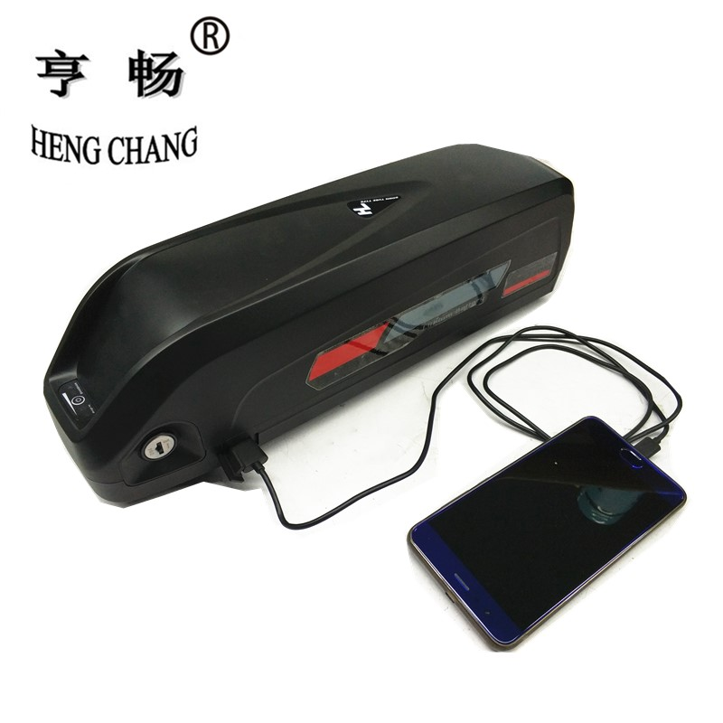 36v 12.5ah e-bike battery New Hailong lithium ion battery pack with USB and charger