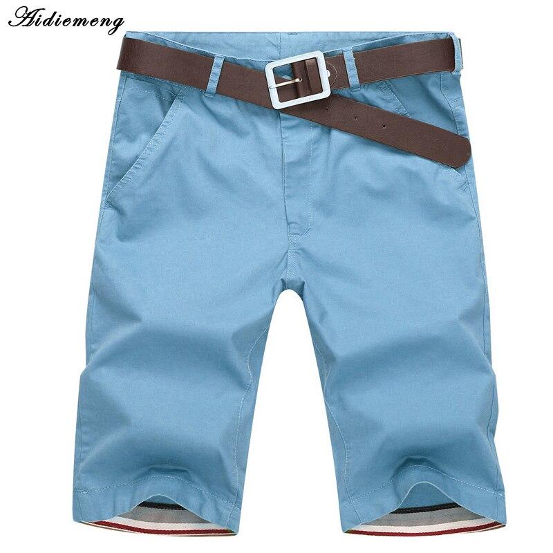 Calções Homens Moda Verão 2018 Mens Shorts Casual Algodão Fino Calções de Praia Bermuda Masculina Corredores Calças Na Altura Do Joelho Curto