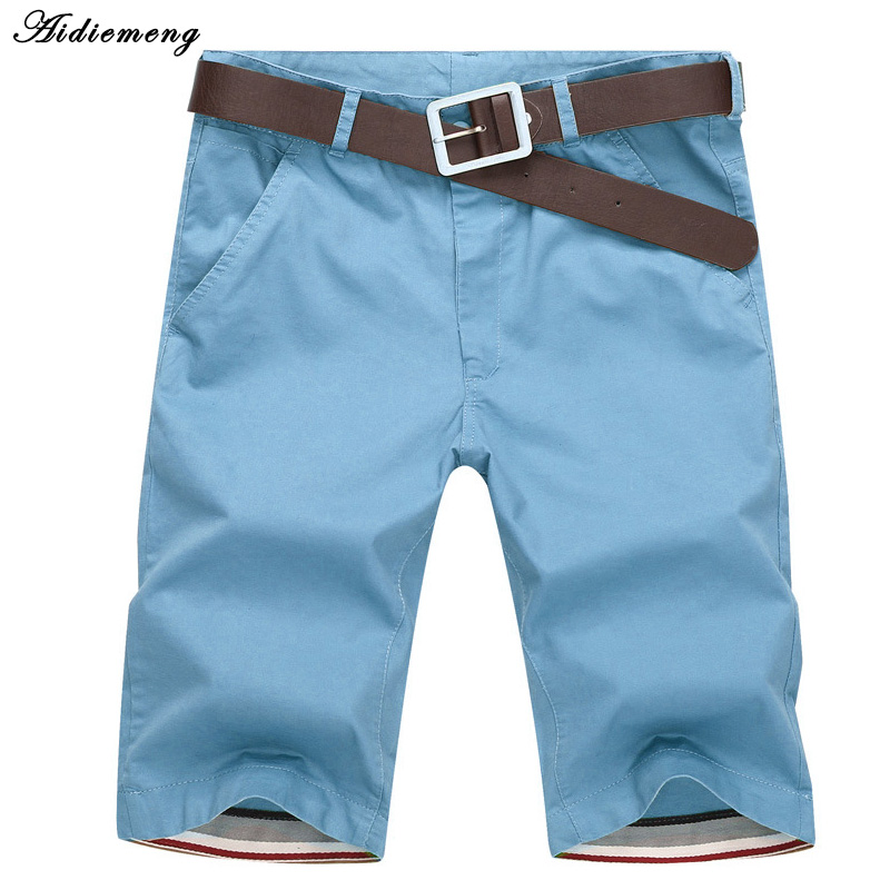 Shorts Men 2018 Summer Fashion Mens Shorts Casual Cotton Slim Bermuda Masculina Beach Shorts Joggers Trousers Knee Length Short