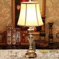 Бладен пункт Европейской классической смолы декоративные настольные лампы исследование спальня ночники творческий ретро моды