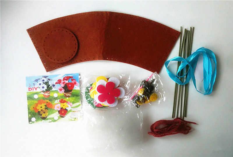 Happyxuan 9 видов конструкций детские наборы инструментов для рукоделия фетр ручной работы для начальной школы детского сада креативный образовательный шитье игрушек набор для девочек детей