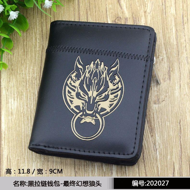 Black Anime Black Butler/Gintama/Hatsune Miku/Hitman Reborn/Naruto/Tokyo  Ghoul/One Piece/Totoro etc Short Wallet/Zipper Purse-in Wallets from  Luggage