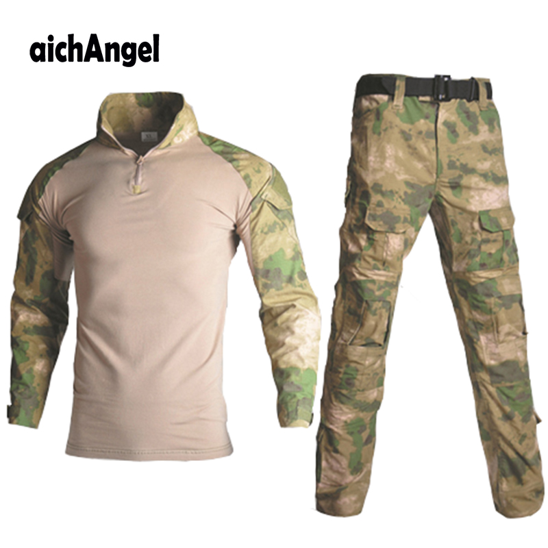 Army Military Uniform Tactical G3 BDU Camouflage Combat Set Airsoft War Game Shirts Pants Military Multicam Hunting Camo Clothes-in Military from Novelty & Special Use    1