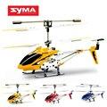 Оригинал Syma S107G 3CH Вертолет Дистанционного Управления Сплава Вертолет с Гироскопом Лучший Подарок Игрушки RTF