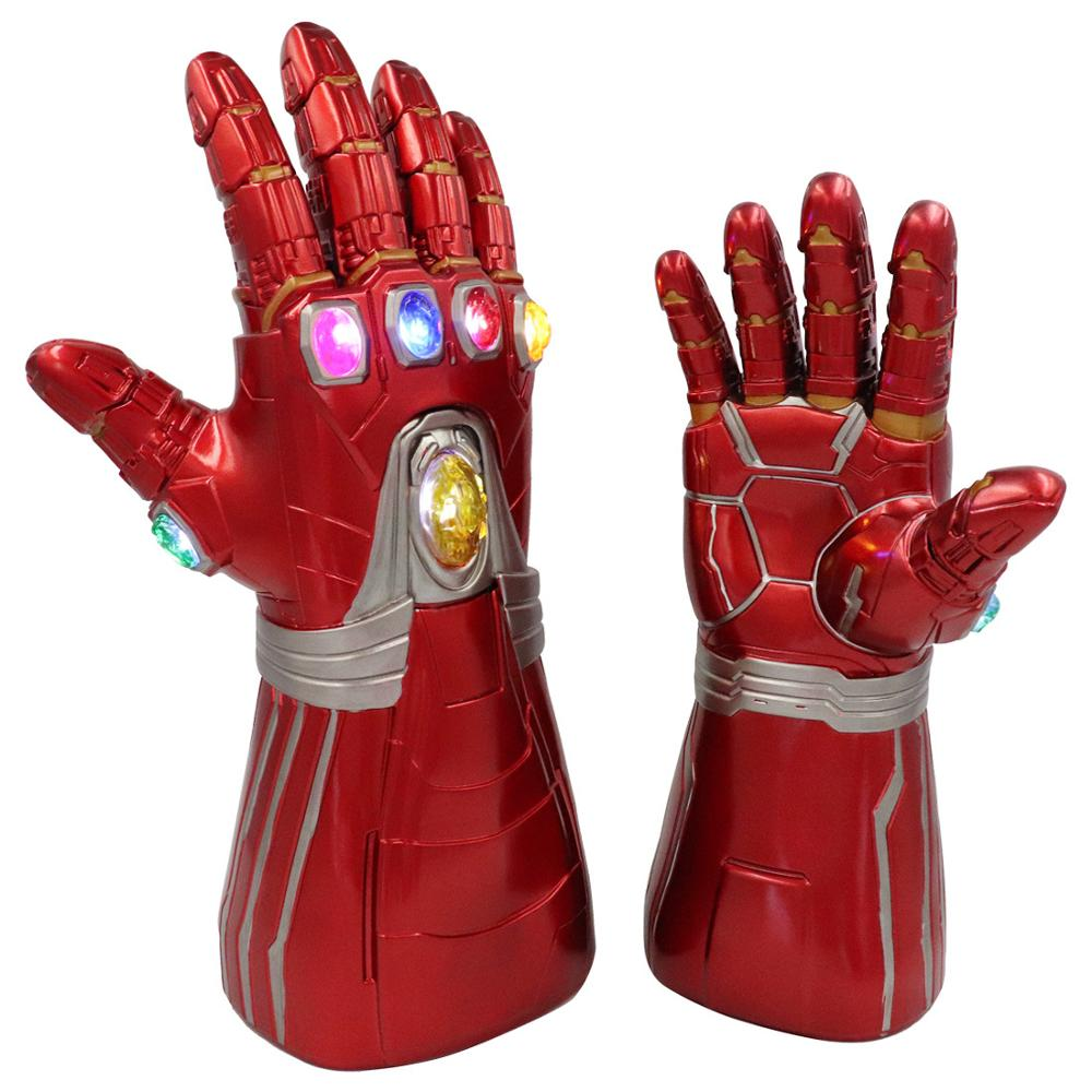 Child Super Hero Black Gauntlets Gloves Boys Girls Cosplay Costume Accessory