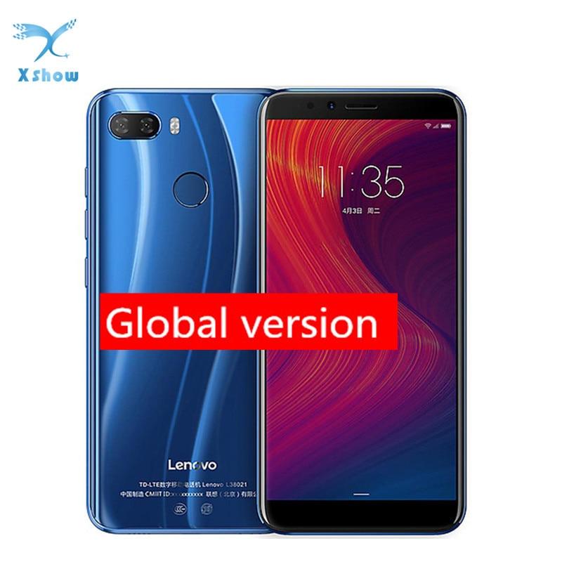 Оригинальный мобильный телефон Lenovo K5 Play, 3 ГБ 32 ГБ, 4G LTE, экран 5,7 дюйма, Восьмиядерный процессор Snapdragon MSM8937, тыловая камера 13 МП + 2 МП, фронтальн...