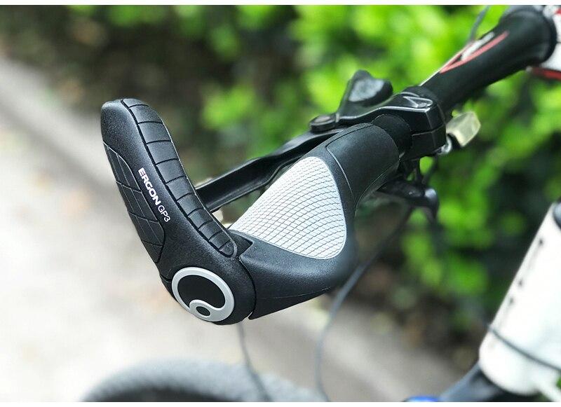 mtb apertos confortáveis da bicicleta guiador apertos