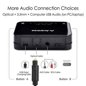 Image 4 - Avantree Audikast aptX Low Latency Bluetooth Audio Transmitter for TV PC (Optical Digital Toslink, 3.5mm Aux, RCA, PC USB) 100ft