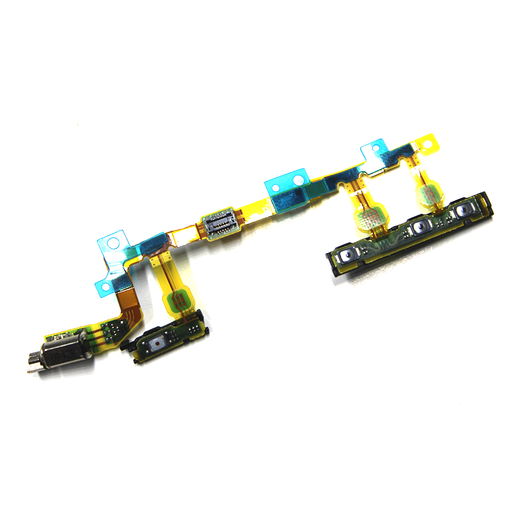 Power On/off Volume Button Vibration Motor And Power Switch Flex Cable For Sony Xperia Z3 Compact D5803 D5833 Mini M55W