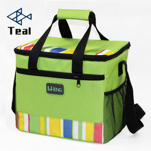 2017 new waterproof portable insulated lunch bag food picnic bags for women children cooler bag refrigerator thermo bag thermal  simple stripes insulated lunch bag for women packaged food thermal bags thermo pouch isothermal bag kids lunch bag refrigerator