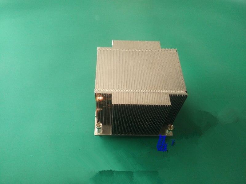 Rapide Bateau Libre Pour 2U 1366 Pur En Aluminium Tuyau De Cuivre CPU Radiateur De Refroidissement fin DIY pour X58 radiateur