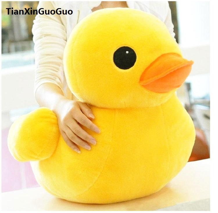 stuffed animal lovely yellow duck plush toy large 70 cm duck doll 27 inch toy b1672 stuffed animal 70cm cute yellow duck plush toy doll baby gift w3174