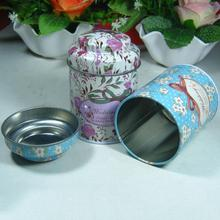 Kitchen Tea Sugar Coffee Storage Tin Box Portable 7.5*5.5cm Butterfly Knot & Line Drawing Style(China)